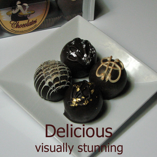 60% Dark Chocolate Liquor Dessert Truffle Assortment